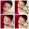 #baby_keenan lagi seneng nyedot jari