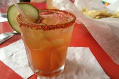 San Antonio - Cafe Ole spicy margarita
