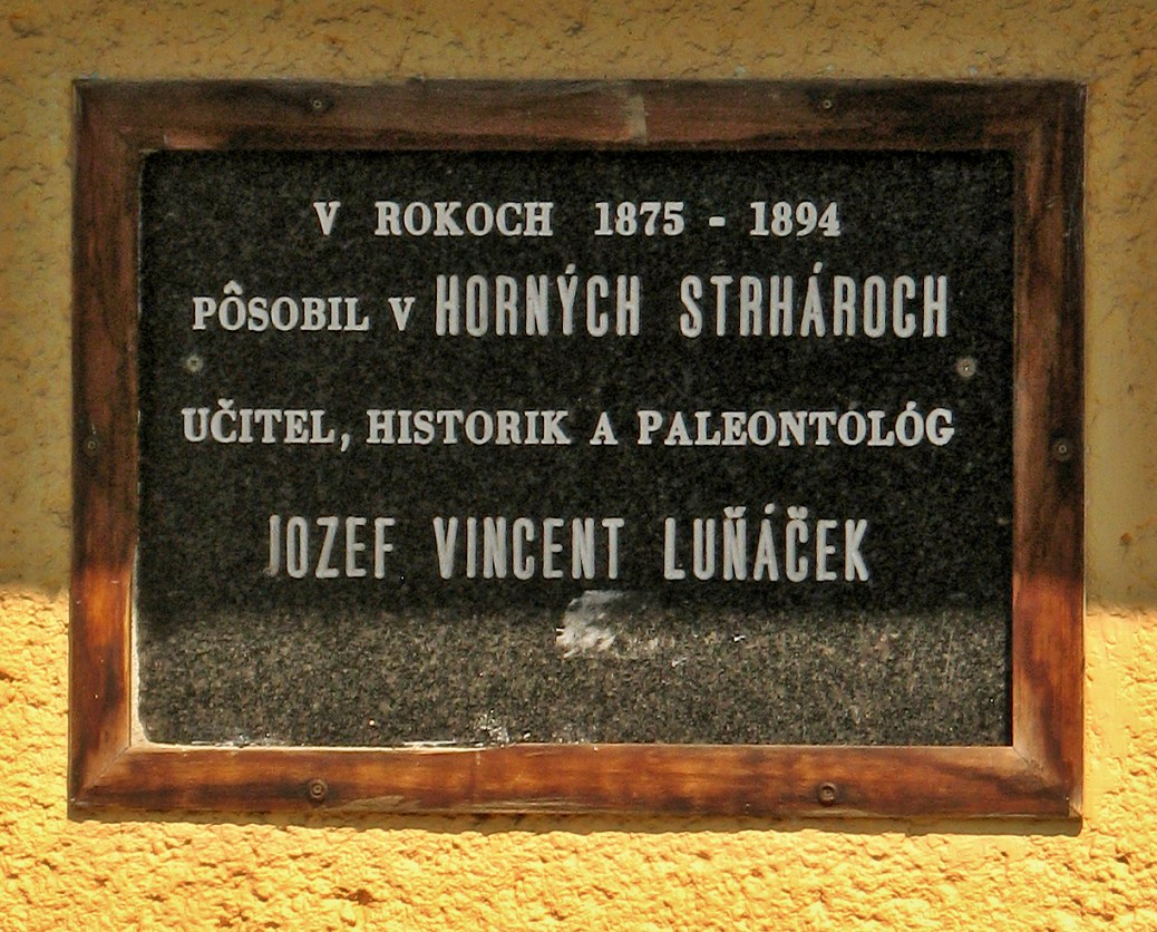 Pamätná tabuľa J. Luňáčkovi