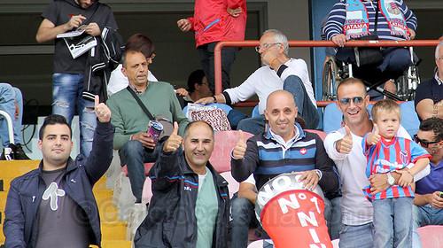 Voci della tribuna: Catania-Chievo$