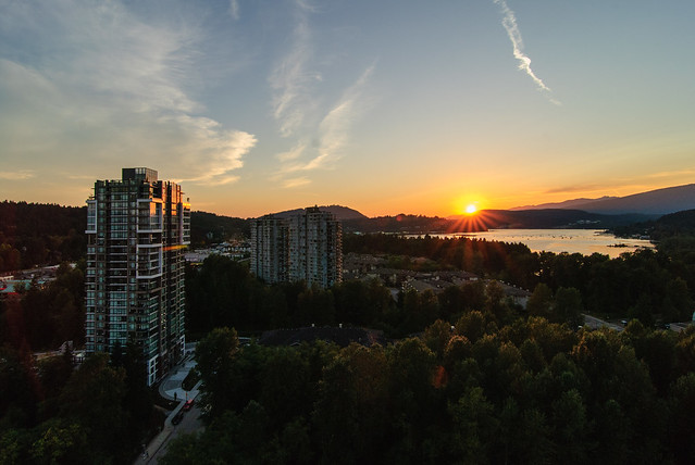 Sunset @ Port Moody