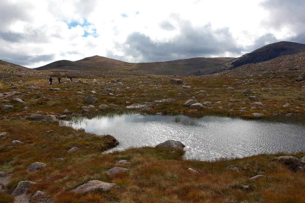 Lochan near Etchachan