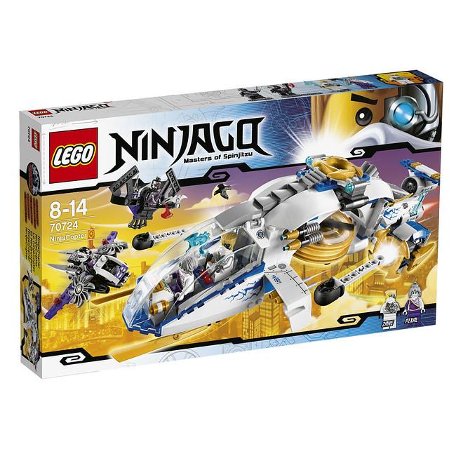 LEGO Ninjago 2014 70724 - NinjaCopter
