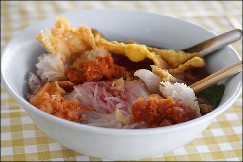 Vegetarian Yentafo