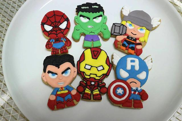 超級英雄餅乾