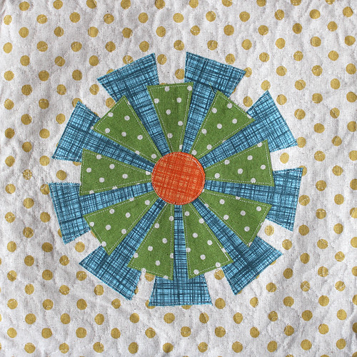 Daisy Cushion Front Panel