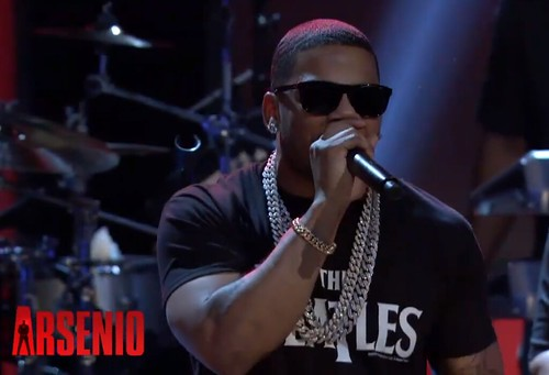 "Nelly and Future Perform ""Give U Dat"" on 'The Arsenio Hall Show'"