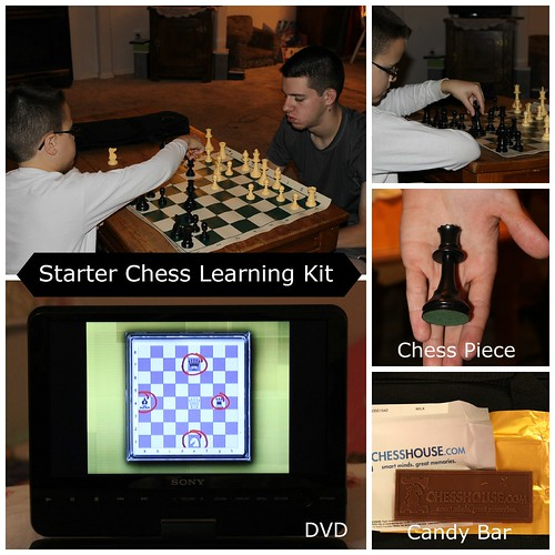 Chess House Collage