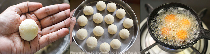 How to make bread jamun - Step3