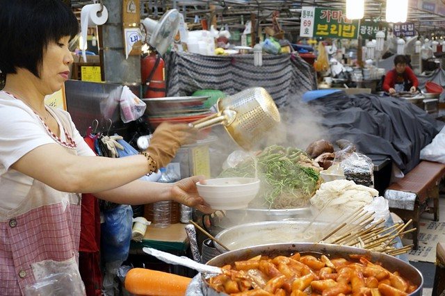Gwangjang Traditional Market in Korea - rebeccasaw blog-046