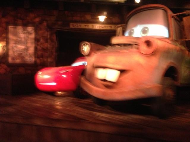 Lightning McQueen & Mater