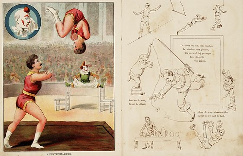 007- De circus-1890-© Royal Library - Biblioteca Nacional de los Países Bajos