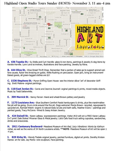 Highland Art tour by trudeau