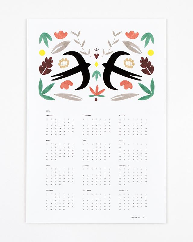 Calendar 2014 by Depeapa_01
