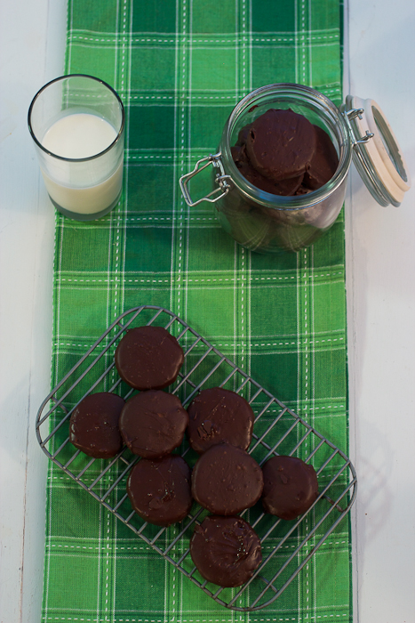 Homemade Thin Mints #cookieweek