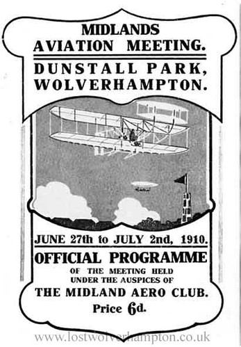The first midlands Aviation meeting at Dunstall Park.
