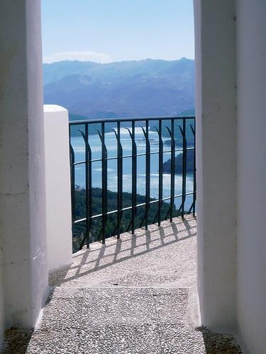 Hornos Ayuntamiento, Blick vom Balkon hinter dem Rathaus