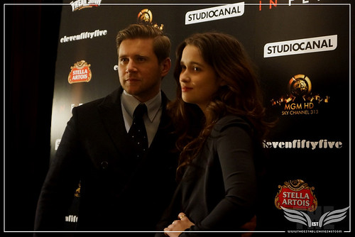 The Establishing Shot: IN FEAR PREMIERE - STARS ALLEN LEECH & ALICE ENGLERT ON THE RED CARPET @ THE ICA PRESENTED BY STELLA ARTOIS by Craig Grobler