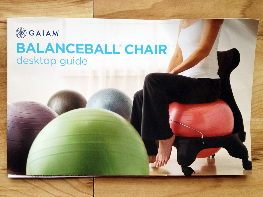 balanceball chair 1