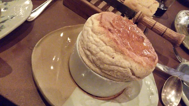 Entree Souffle at rise Dallas
