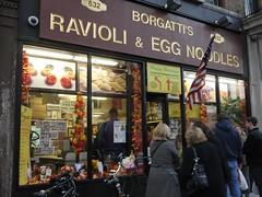 土, 2013-11-23 16:04 - Borgatti's Ravioli & Egg Noodles