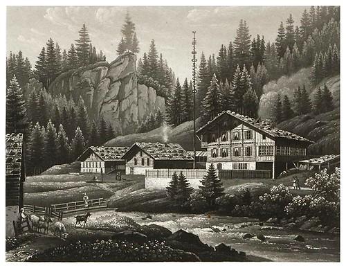 010-Los baños de Rorenlami-Cinquante vues pittoresques de la Suisse… -Vía e-rara