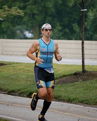 Chris at South Shore Triathlon