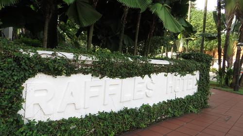 raffles hotel sign