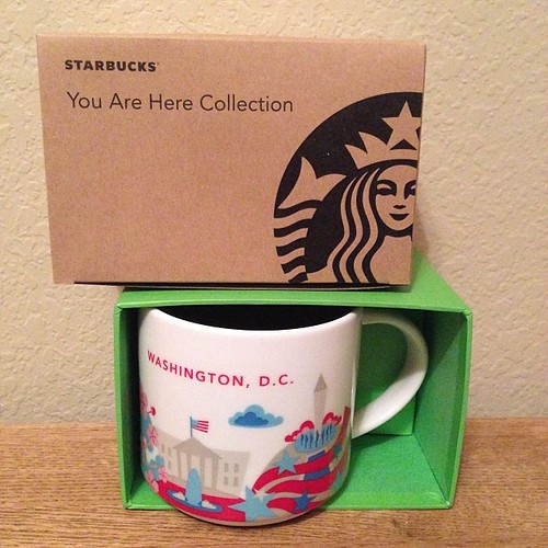 347:365 D.C. added to my collection. Thanks for the swap @cbmauro !! #starbucks #youarehere #urhere
