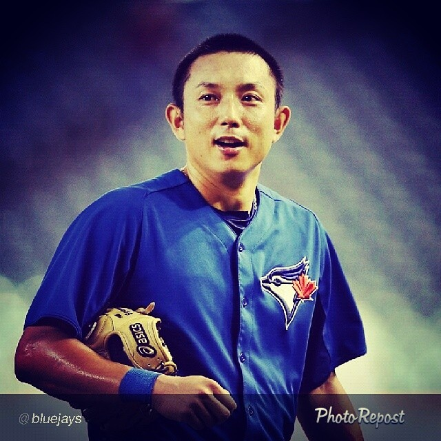 "By @bluejays ""The TORONTO BLUE JAYS have agreed to terms with INF MUNENORI KAWASAKI on a 2014 minor league contract with an invitation to attend Major League spring training."" via @PhotoRepost_app"