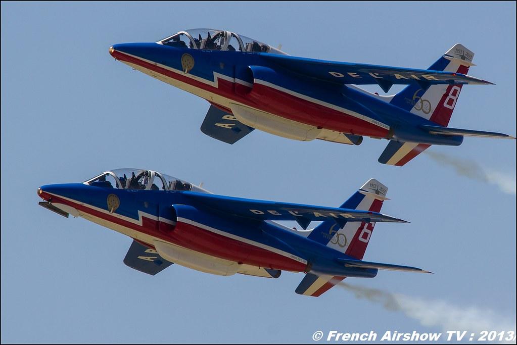 Patrouille de France: 60 ans, Salon BA-701,Meeting Aerien 2013