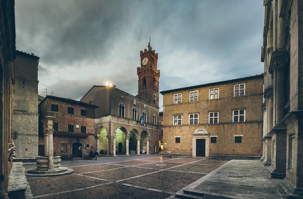 Pienza Main Square, Tuscany