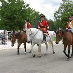 Horses walking, Williamsburg