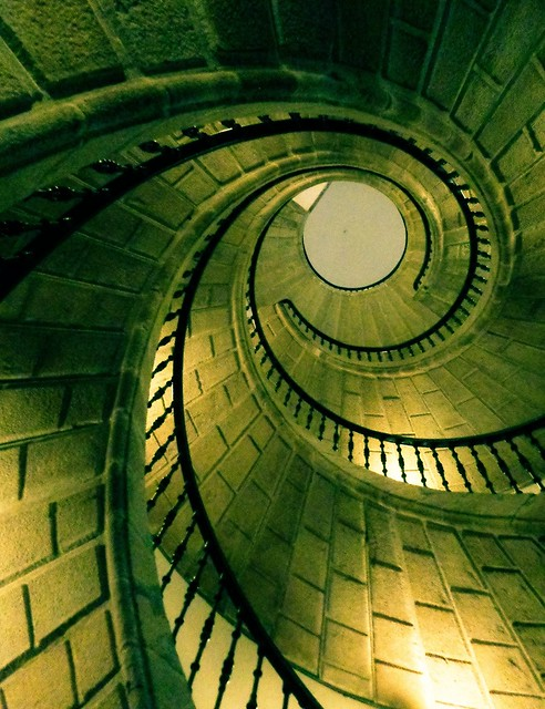 Escaleira helicoidal de Bonaval ( Domingo de Andrade) - 1