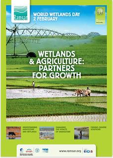 2014年世界濕地日的主題「濕地與農業:成長的夥伴」