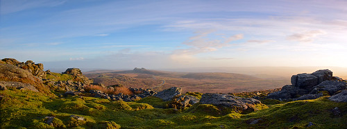 uk england landscape nikon panoramic moors nationaltrust dartmoor haytor dartmoornationalpark panoramicviews rippontor nikond7100