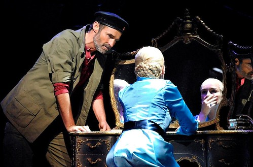 Marti Pellow and Madalena Alberto in Evita