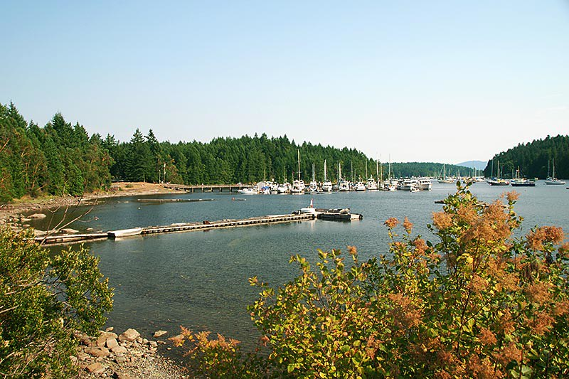 Telegraph Harbour, Thetis Island, Gulf Islands, Georgia Strait, British Columbia, Canada