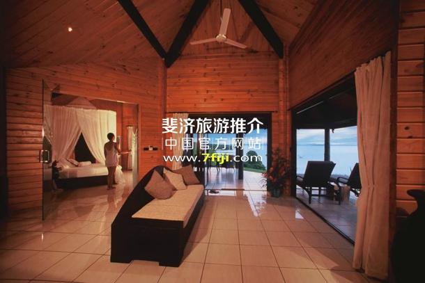 斐济塔韦乌尼水疗酒店(Taveuni Island Resort & Spa)奢华海滨别墅