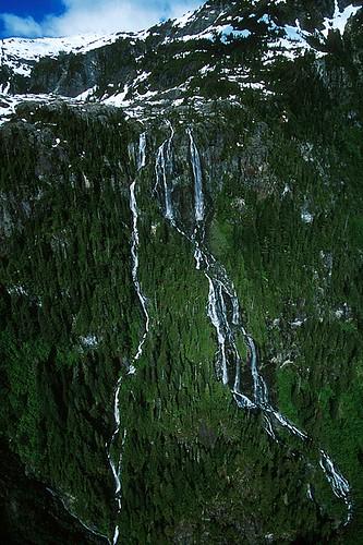 Della Falls, Strathcona Provincial Park, Central Vancouver Island, British Columbia, Canada