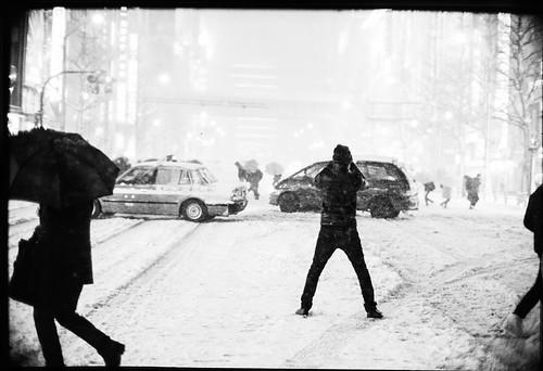 SNOWY AKIHABARA by 濱田 晃弘 (Akihiro Hamada)