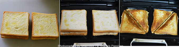 Sprouts Bread Sandwich Recipe - Step2