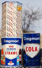 Cragmont Straws & Cola Can