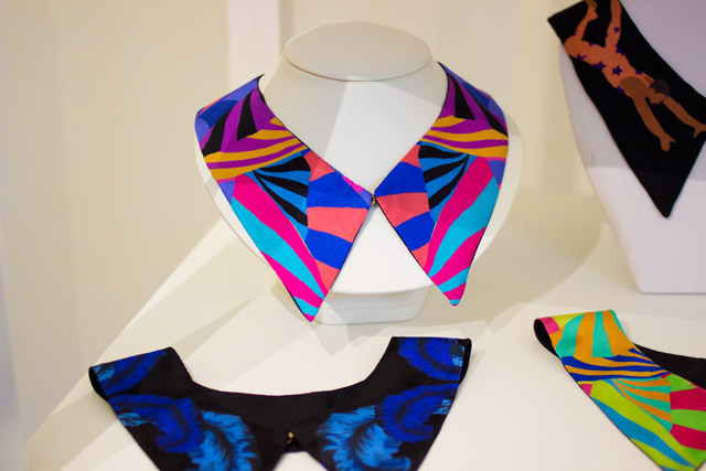 Cleo Ferin Mercury silk scarves