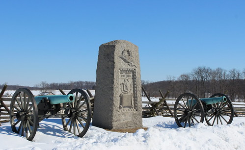 Gettysburg, 9th Massachusetts Battery Monument