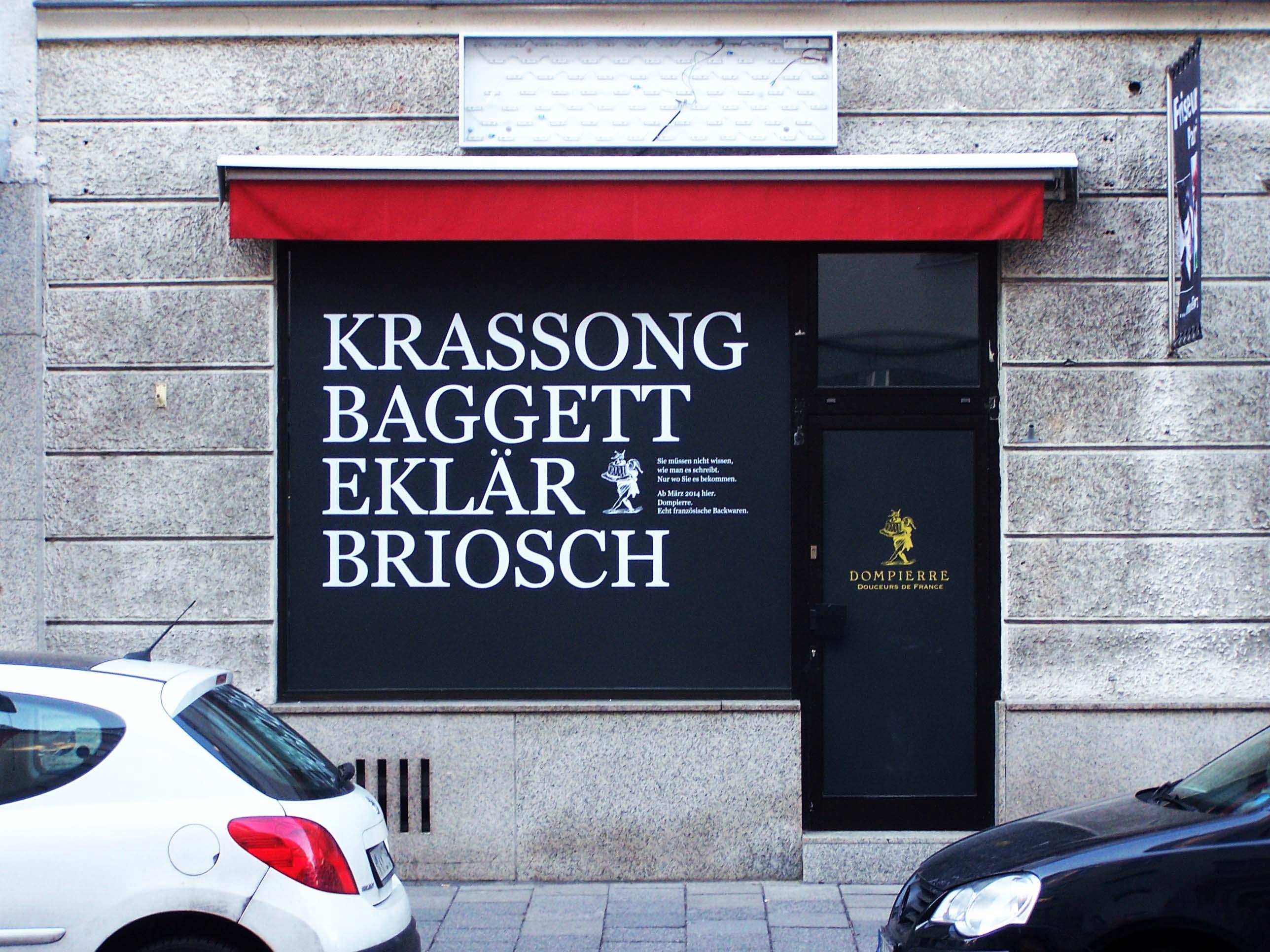 La Boulangerie Dompierre, Neueröffnung Schellingstraße
