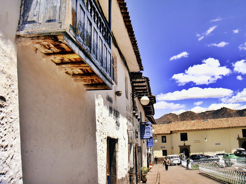 When the sun comes out in Cusco, it's so beautiful!