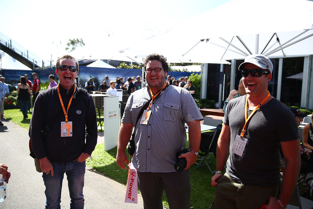 Shell at the Australian F1 Grand Prix