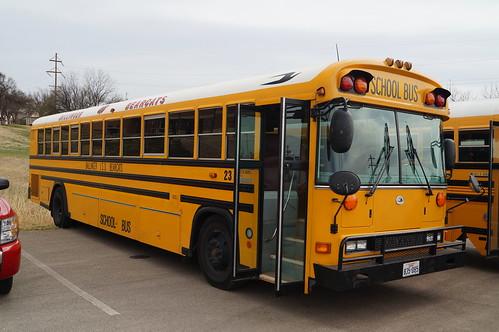 bluebird schoolbus bearcats ballinger activitybus allamericanre