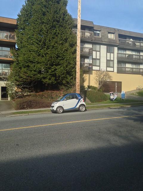 Car2Go in North Vancouver